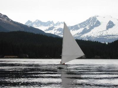 ROAN sailing trials, Auke Lake