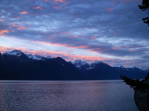 Coast Range sunrise