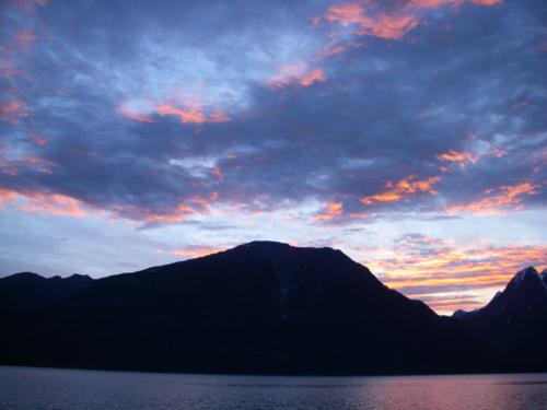 Haines sunrise