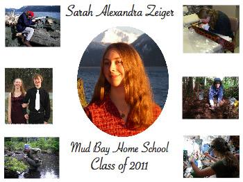 Aly's graduation announcement