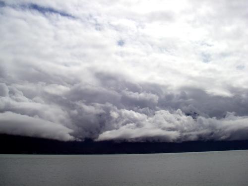 clouds on Lynn Canal