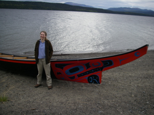 Teslin canoe