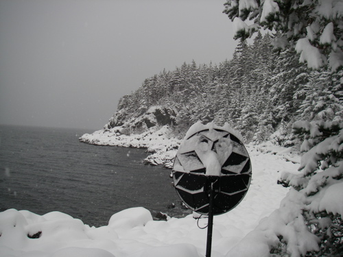First big snow of winter 2011-2012