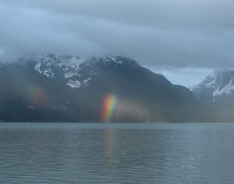 June 10 partial rainbow