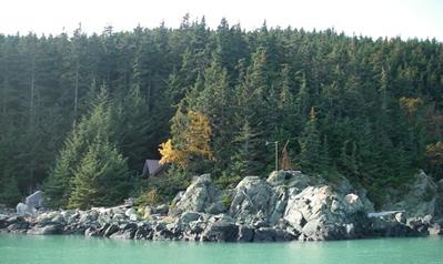 Zeiger homestead in autumn