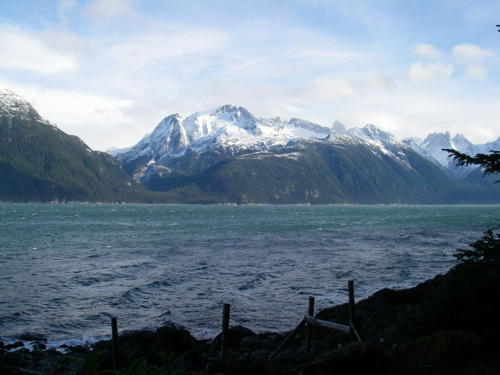 The weather turns colder over Lynn Canal