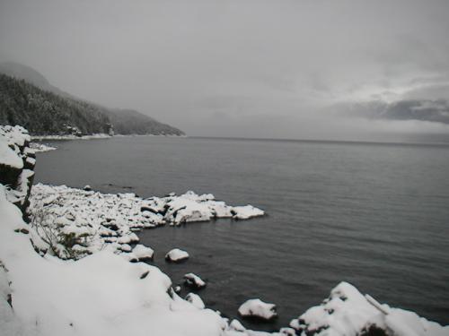 winter day, Haines, Alaska