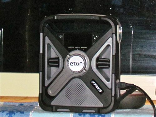 Eton FRX5 (Photo: Mark A. Zeiger).