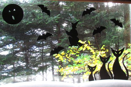 Classic Halloween view on the homestead (Photo: Michelle L. Zeiger).
