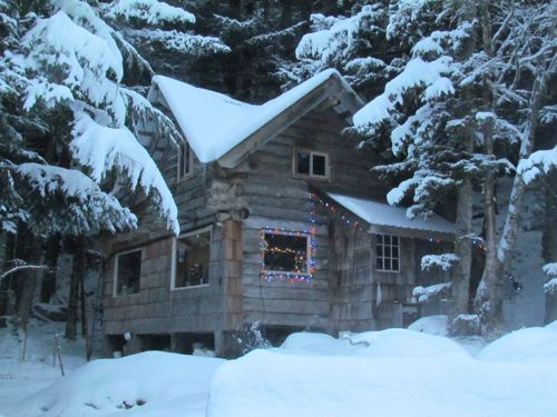 Merry Christmas from the Zeiger Family Homestead (Photo: Mark A. Zeiger).