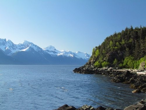 The view down Lynn Canal (Photo: Mark A. Zeiger).