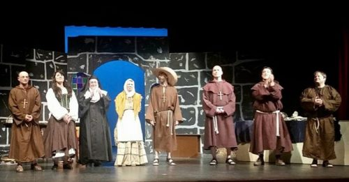 Curtain call of Incorruptible final night (Photo: Curtis Holmes).