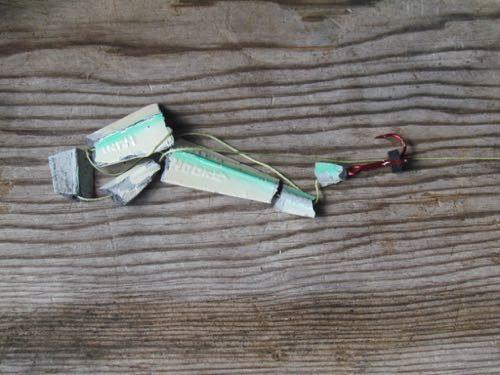 Broken lure