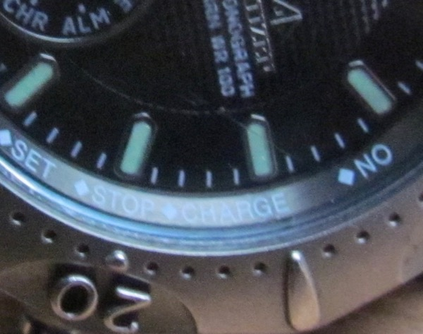 Citizen Eco-Drive detail