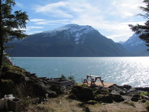 May weather on Lynn Canal