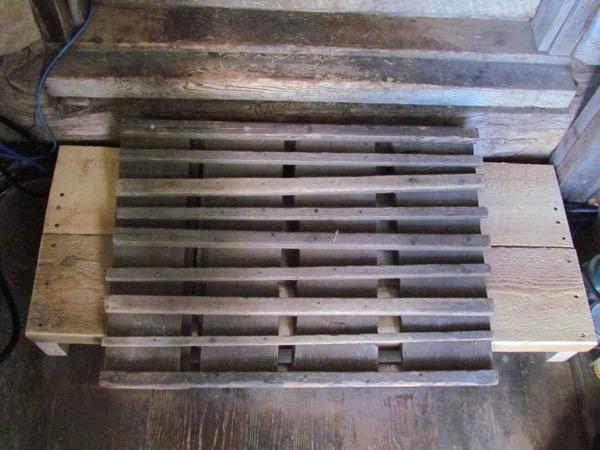 old step overlaid on new step.