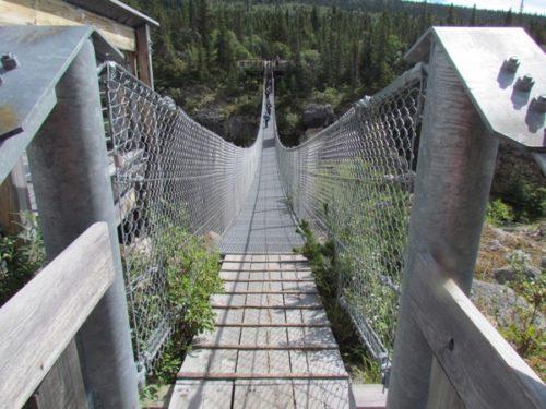 Yukon Suspension Bridge