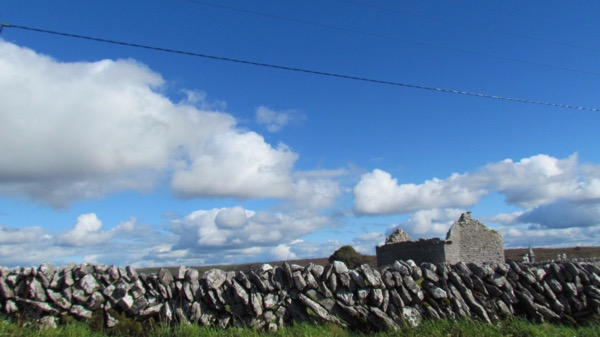 sky over Burren, Ireland