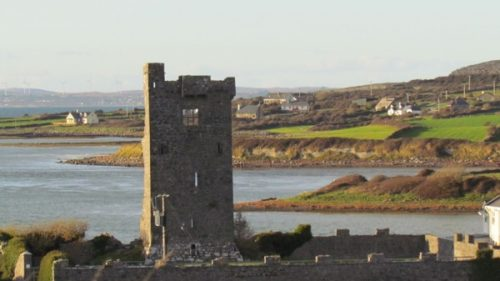 castle on Galway Bay