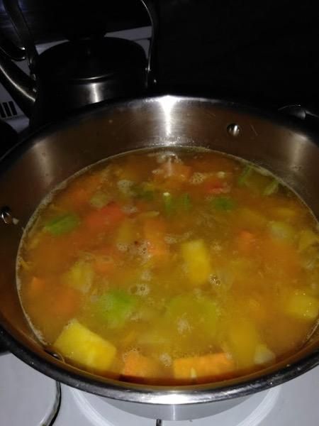 pub soup cooking