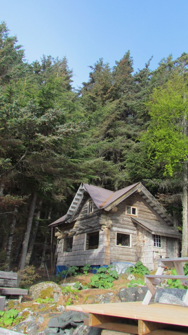 The Zeiger Homestead cabin
