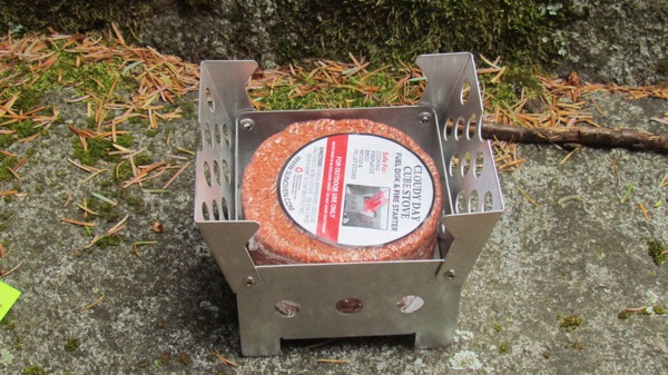 Cloudy Day Cube Stove