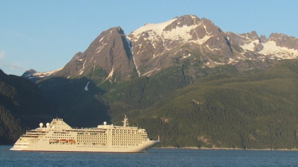Silver Muse on Lynn Canal