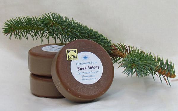 Zeiger family Sitka spruce soap