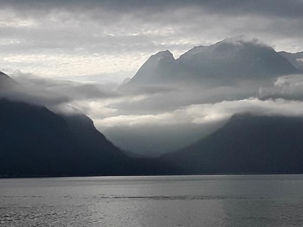 An August morning on Lynn Canal, Alaska