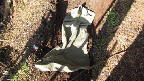 deodorizing laundry in dirt