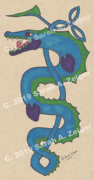 Sarah A. Zeiger's Kells Creature