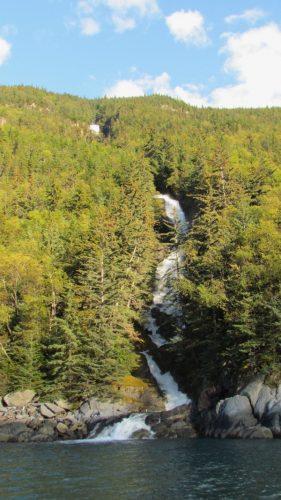 Sawmill Fall near Skagway, Alaska