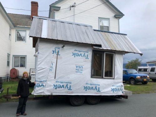 Sarah Zeiger's tiny house