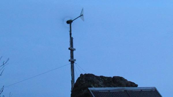 Zeiger family homestead wind generator